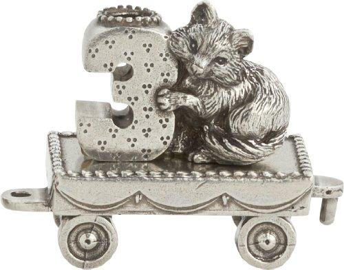Pewter Fox - Danforth Pewter Birthday Train (3 - Fox)
