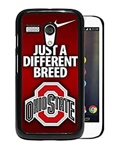 Motorola Moto G 1st Ncaa Big Ten Conference Football Ohio State Buckeyes(8) Black Screen Cellphone Case Unique and Genuine Design