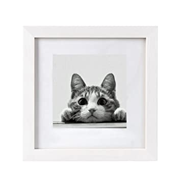 Amazoncom Bojin 10x10 Picture Frames Matted To 6x6 Photo Poster