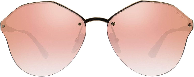 Prada Sonnenbrille (PR 64TS) Or (Antique Gold/Pinkgradientpinkmirrorpink)