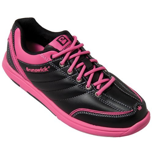 Damen Bowlingschuhe Brunswick Diamond black/hot pink BRL018 065
