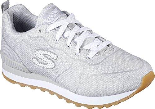Skechers Women's OG 85 Hypnotic Fashion Sneakers Light/Grey 6.5 B(M) US