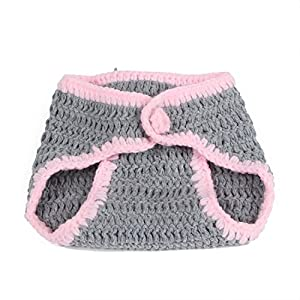 FuzzyGreen Cute Bunny Rabbit Crochet Knitted Photography Props Newborn Baby Outfits Diaper Costumes Festival Gifts