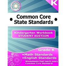 Kindergarten Common Core Workbook - Student Edition