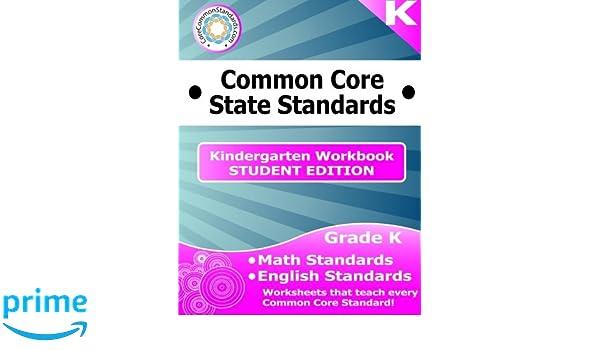 Kindergarten Common Core Workbook - Student Edition: Have Fun ...