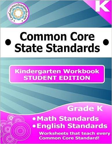 Kindergarten Common Core Workbook Student Edition Have Fun