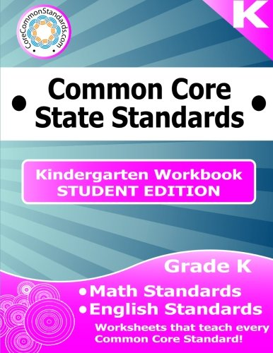 (Kindergarten Common Core Workbook - Student)