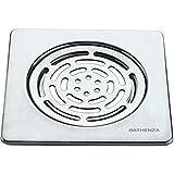 Bathenza Square , 2PC Designer Floor Drain / Floor trap