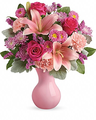 Darling Bloomers - Debbie's Bloomers Lush Blush - Fresh Flowers Hand Delivered in El Paso area