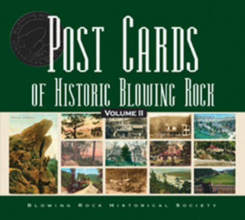 2: Post Cards of Historic Blowing - Rock Nc Blowing
