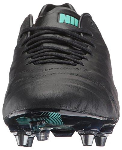 Nike Tiempo Legend VI SG-Pro, Scarpe da Calcio Uomo Negro (Black / Black)