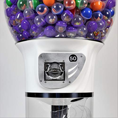 Spiral Gumball Vending Machines - Giant Wizard 5'6'' - $0.25 (Red) by Global Gumball (Image #1)