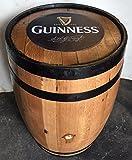 Cheeky Chicks Refurbished Guinness Solid Oak Original Barrel   Patio Tables   Garden Furniture