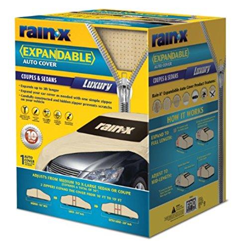 Rain-X 805989 Zip Fit Car Cover- Luxury