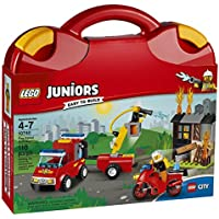 Lego 10740 T Juniors Fire Patrol Suitcase Toy