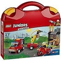 LEGO Kit de construcción, Valija Patrulla de incendios 10740