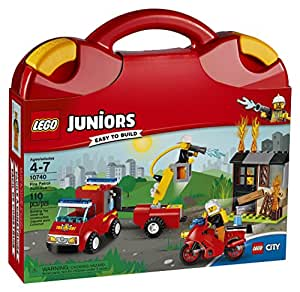 LEGO Juniors Fire Patrol Suitcase 10740 Toy for 4-Year-Olds