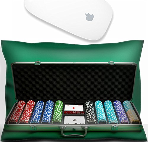 Luxlady Mouse Wrist Rest Office Decor Wrist Supporter Pillow suitcase for poker with chips and cards.IMAGE: 25407623 ()