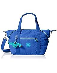 Kipling Art U Tote Bag, Sailor Blue Contrast Zip, One Size