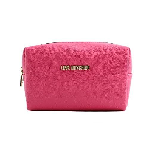 Love Moschino - Cartera de mano para mujer Rosa fucsia talla de un talla: Amazon.es: Zapatos y complementos