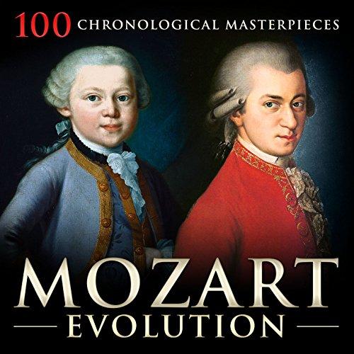 Mozart Evolution : 100 Chronological Masterpieces