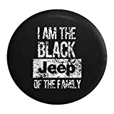 31 inch jeep tire cover - Distressed - Black Jeep of the Family Spare Tire Cover 31 Inch