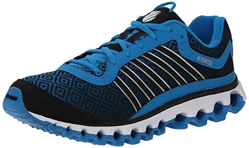 K-Swiss Men's Tubes 151 Print Tubes Training Shoe, Methyl Blue/Black, 10 M US