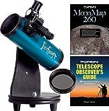 FunScope 76mm TableTop Reflector Telescope Moon Kit