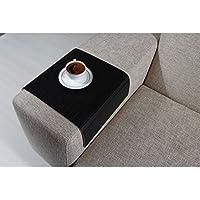 Full Slatted Super Black 30cmx50cm Sofa tray, sofa table, arm table,couch tray, wooden tray,wood tray,napoli disbudak