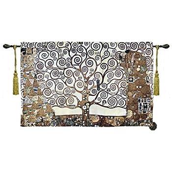 "27/""x55/"" Gustav Klimt /""The Dancer/"" Fine Art Tapestry Wall Hanging US"