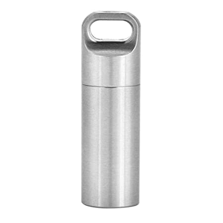 e2e0a48b5970 Amazon.com: Alomejor Camping Pill Bottle, Waterproof Portable ...