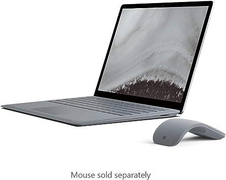 Amazon Com Microsoft Surface Laptop 2 Intel Core I5 8gb Ram 128gb Platinum Computers Accessories