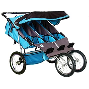 Bebelove Usa Triple Jogger Blue