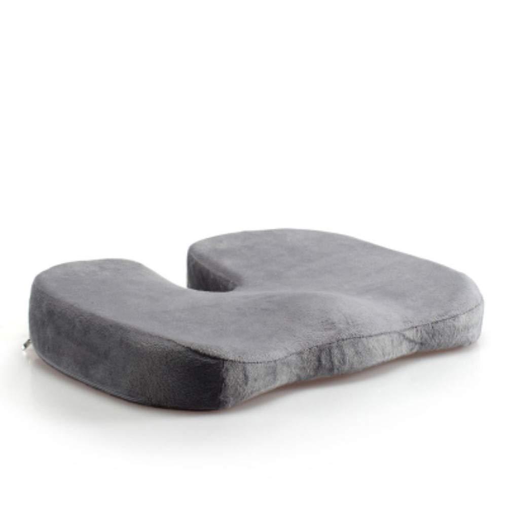 adatto per sedia da ufficio coccige ortopedico cuscino del sedile per abbellire fianchi allevia dolori della zona lombare seggiolino auto sedie a rotelle colore blu Cuscino memory foam