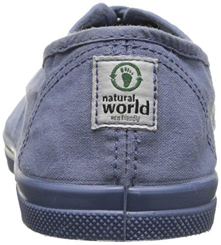 Naturlige Verden Kvinners Ingles Elastico Flat Lavendel