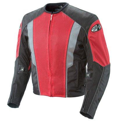 Joe Rocket Phoenix 5.0 Mesh Textile Motorcycle Jacket Red/Black 2XL (Joe Rocket Motorcycle Jacket Red)