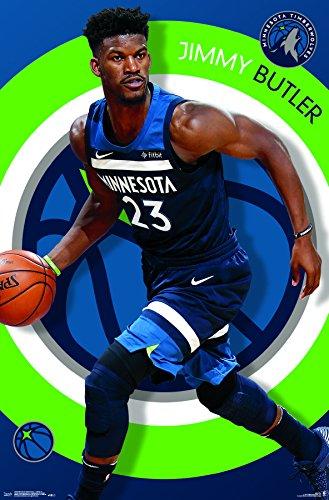 """Trends International"""" Minnesota Timberwolves-Jimmy Butler Wall Poster, 22.375"""" x 34"""""""