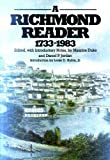 A Richmond Reader, 1773-1983, Maurice Duke, 0807815462