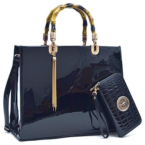 f28f5ed188 MMK collection Women Fashion Matching Satchel handbags with wallet(6900)~Designer  Purse ~