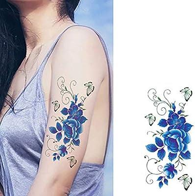 tzxdbh 5 Tatuajes de Tatuaje para Mujer de Beauty & G Tbx011 ...