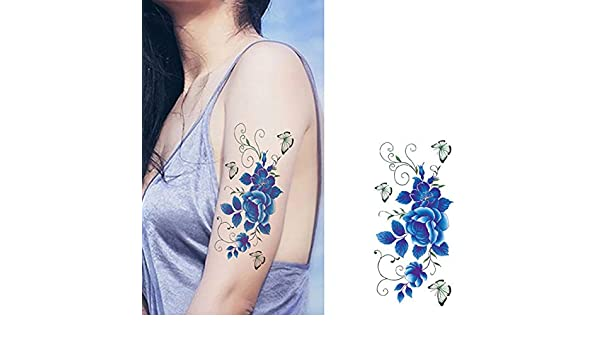 7pcs Gran brazo lleno del tatuaje LionParty noche de la gallina de ...