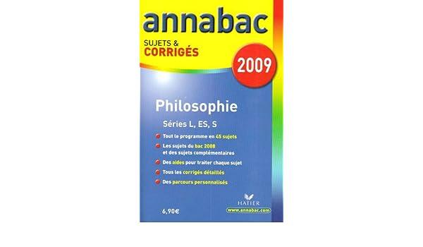 Philosophie L, ES, S : Sujets et corrigés: Degorre Stéphanie Guimbail Didier: 9782218932496: Amazon.com: Books