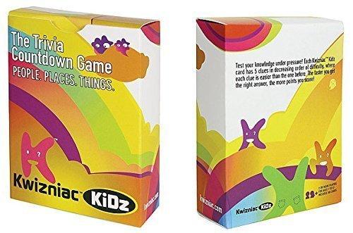 Kwizniac by Kidz. Trivial Countdown Game for Kids by Cafe 6
