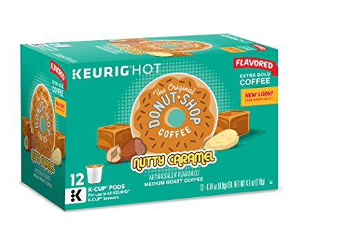 The Original Donut Shop Nutty Caramel, Keurig K-Cups, 72 Count