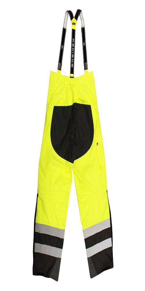 Radians RW32-EZ1Y-2X Class E Heavy Duty Rain Bibs, XX-Large, Green by Radians (Image #2)