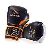 Essential Boxing Gloves Orange 16-oz