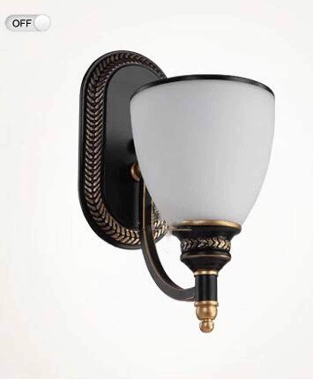 American country pastoralen gemäßnschaften zu Fuß Wandleuchte Wandleuchte Schlafzimmer Bett Wand lampe Lounge der Beleuchtung Laternen leuchten