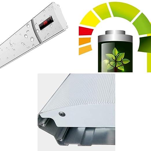 Calentador, calentador casero calentador eléctrico montado en la pared calefacción por aire caliente velocidad de la estufa ahorro de energía 1200 mm × 75 ...