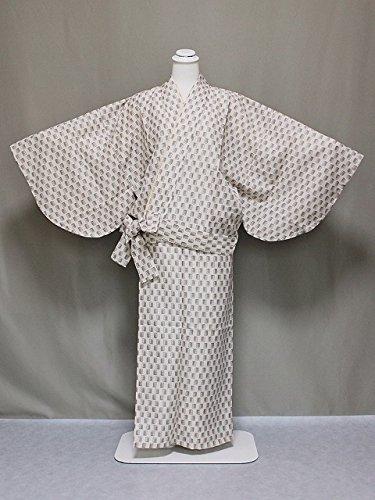 紗の二部式着物 夏のきもの 洗える紗の着物 夏用の二部式きもの 仕立上がり夏用二部式 Lサイズ C0563-11L