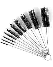 10 Pieces Cleaning Brush Set Nylon Bottle Brush for Keyboard Water Cup Water Bbuilt Straw Cleanings